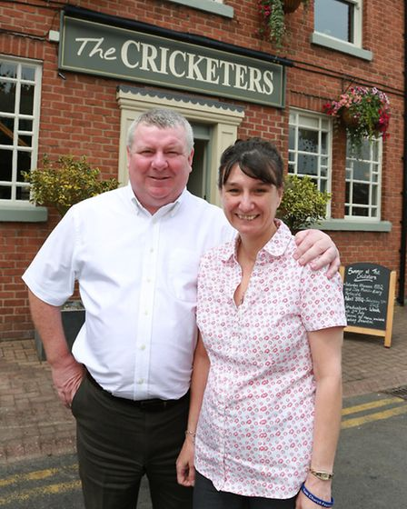 Joint owners, Ray and Sandra McKinty