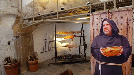 Visitors can learn about the medieval history of Abbot's Kitchen