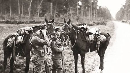 As the two sides raced to the coast, scouts from the 20th Hussars played a crucial role in watching