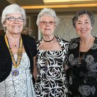 Petra Connor, Ann Clegg and Margaret Harrison