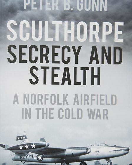 Author Peter Gunn has written a book about the Cold War history of Sculthorpe air base. Picture: Ian