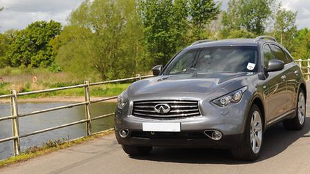 The Great Norfolk Drive in the Infiniti around Bawburgh, and the River Yare. Picture: Denise Bradley