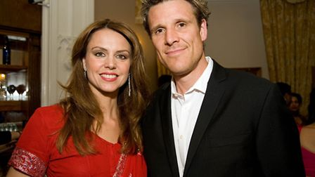 Beverley Turner and husband James Cracknell