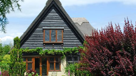 A typical arts and crafts style house in Walberswick