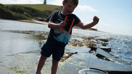 The Rock Pool at Kimmeridge Bay is a fun day for all the family