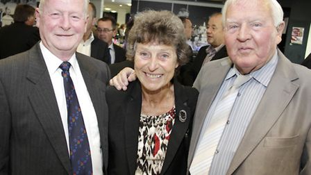 Brian, Val and Roy Finney
