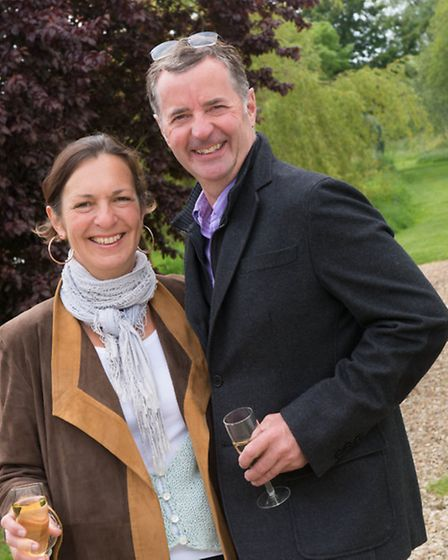 Monique and Simon Gudgeon (Owners of Sculpture by the Lakes)