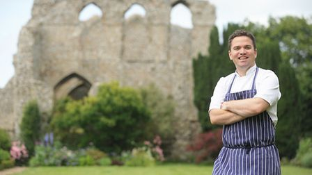 Jay Moore is the chef at North Creake Abbey Cafe. Picture: Ian Burt