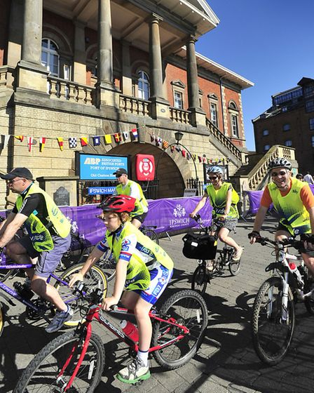 A glorious day for Skyride Ipswich Ipswich Waterfront