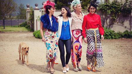 The ladies shared style tips
