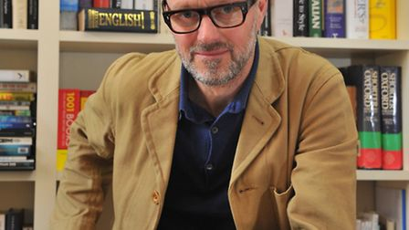 Author and creative writing tutor, Henry Sutton, who is co-organiser of the Noirwich Crime Festival.