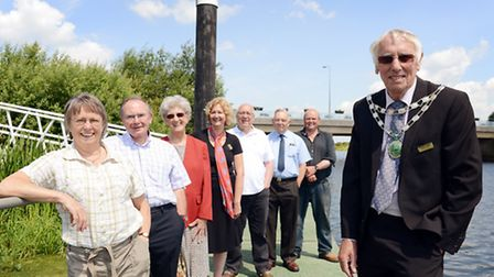Organisers and volunteers of the Downham Market Water Festival. Picture: Matthew Usher.