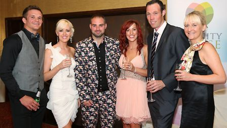 John Coyle, Katie Lyons, Lee and Natalie Guerin, Matt and Lucy Clarkson