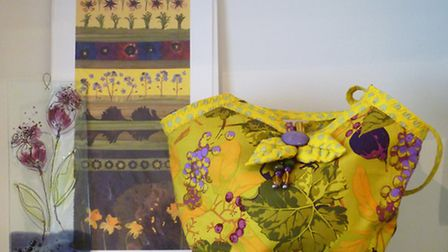 Floral delights from Hare and Hen Gallery and Craft Shop