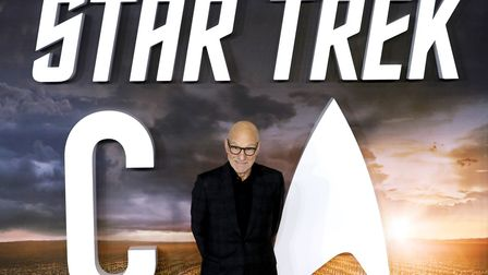Sir Patrick Stewart attending the Star Trek: Picard Premiere held at the Odeon Luxe Leicester Square