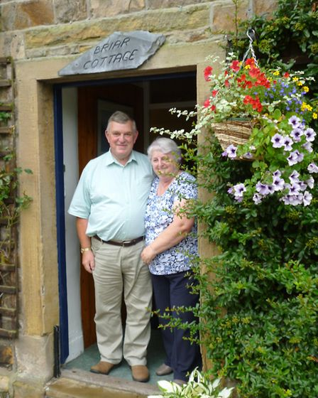 Mary and Keith at Briar Cottage