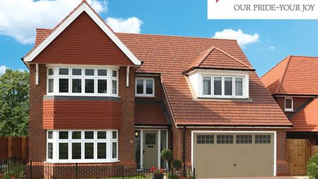 Redrow builds both starter homes and larger detached properties