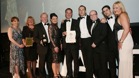 Lancashire Life Hotel of the Year: The team from The Spa Hotel at Ribby Hall Village celebrate on st