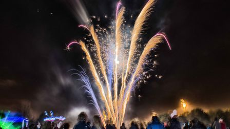 Fireworks at the Littledown Centre in Bournemouth - Andrew Christopher Photography