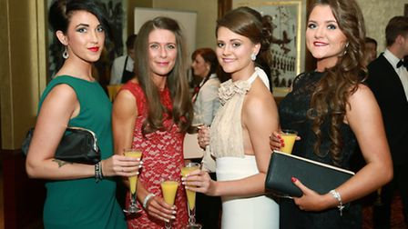 Suzanne Daggers with Vicky, Anna and Jo Worsfold