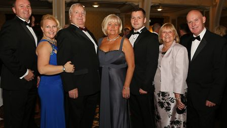 Craig Rogers, Karen Rogers, Roy Fenton, Yvonne McConnell, Oliver McConnell, Joan Fenton and Chris Mc