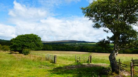 The view to the fells of Bleasdale