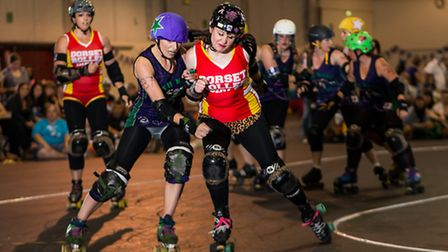 The South West Angels of Terror (SWAT) Roller Derby Team is based in both Somerset and Devon and has