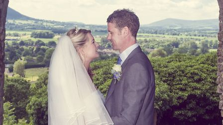 Wales and Doran - Taking place at Clitheroe Castle, the pastel themed wedding of Lynsey Katherine Wa