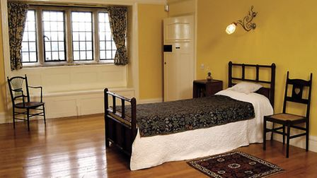 The Arts & Crafts Bedroom at Blackwell