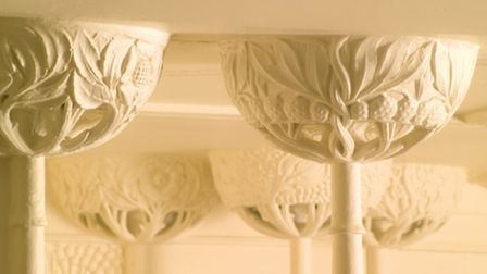 White Drawing Room Columns