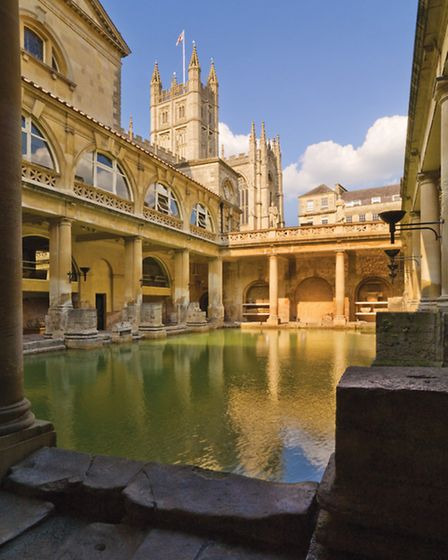 The Roman Baths has benefitted from the good causes fund. Photo Roman Baths, Bath and North East Som
