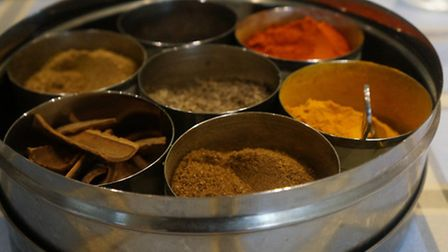 Bini encourages you to taste the spices and learn all about them before you add them to your cooking