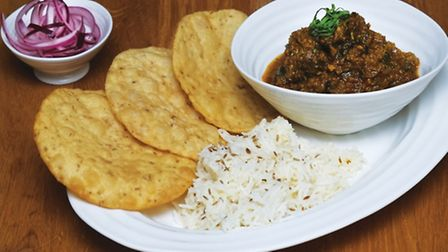 The lamb curry