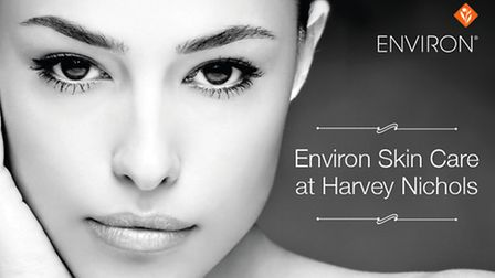 Environ Skincare Counter at Liverpool branch.