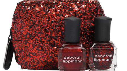 Dazzle your guests with this fabulous Deborah Lippmann Nail polish in Ruby Red Slippers. £17 at www