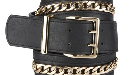 Complete your evening outfit with this black Felicity chain belt £20 by Therapy at www.houseoffrase