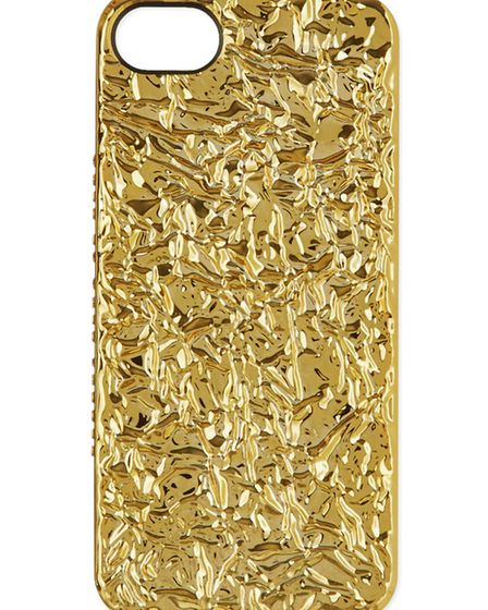 Dont forget the accessories! We love this Marc Jacobs iPhone cover. £30 at www.selfridges.com