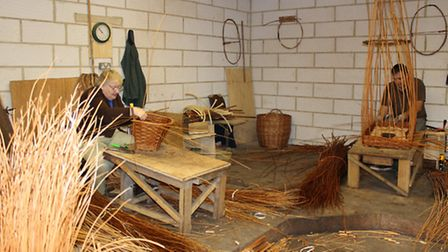 Keeping the tradition of basket making alive in Somerset