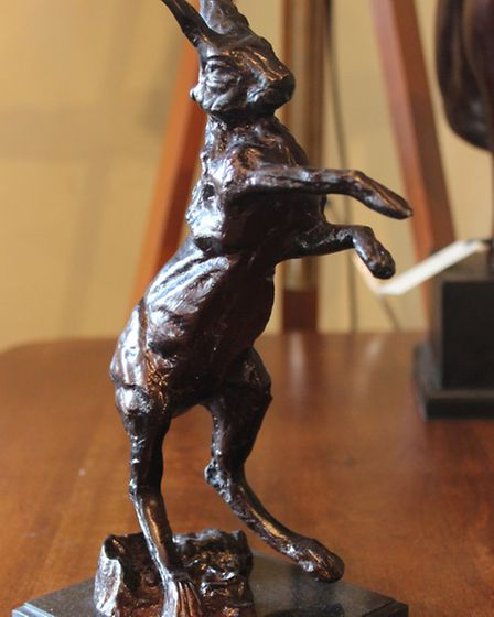 Hare sculpture from The Marmalade Tree