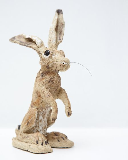 Hare sculpture by Terry Larwood
