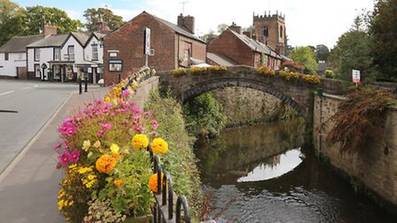 The River Yarrow and St Michael & All Angels Church