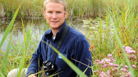 Richard Mason, warden of the Catfield and Sutton Fen RSPB nature reserves. Picture: James Bass