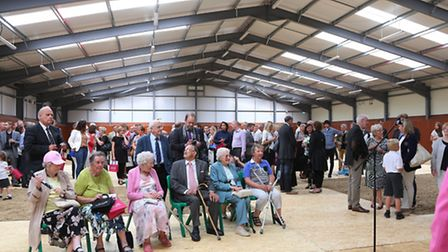Guests gather for THREE official opening ceremonies; It's My Life , Compassion in Action Rainbow Ec