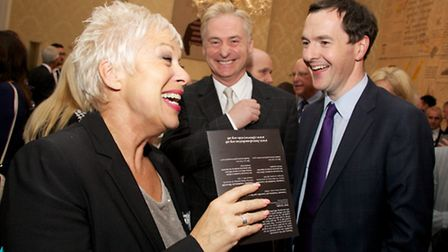 Denise Welch, Kevin Horkin & The Chancellor