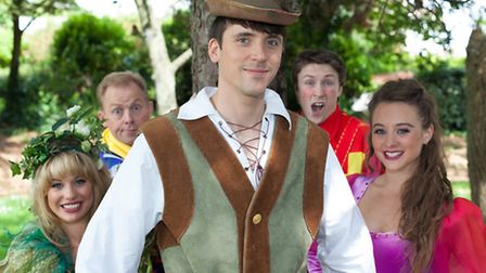 Robin Hood and his Merry men and women at Lighthouse Poole - photo by David Stroud