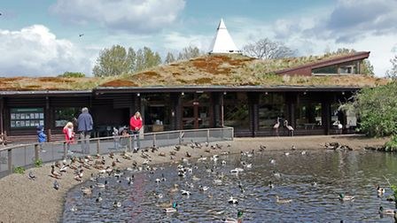 The visitor centre - The Wildfowl & Wetlands Trust at Martin Mere