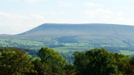Pendle from the north