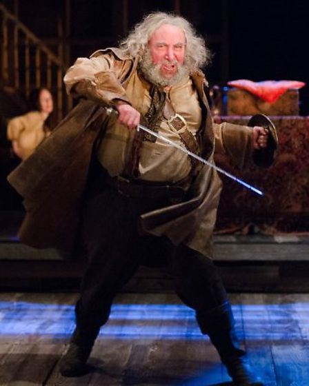 Sir Anthony Sher as Falstaff at the Lowry in Salford