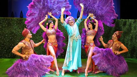 Barry Humphries in Eat, Pray, Laugh at Manchester Opera House