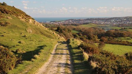 Looking back to Swanage - Photo by Edward Griffiths